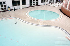 Children Swimming Pool. In Park royalty free stock photos
