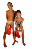 Children in swimsuit Royalty Free Stock Photo