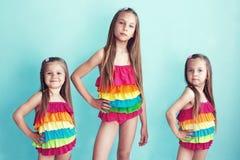 Children in swimwear Stock Image