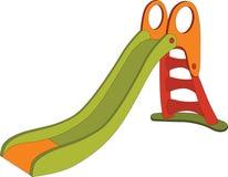 Children swing a hill. Cartoon. Children swing a hill from children's park Royalty Free Stock Photos