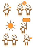 Children symbols Stock Photos