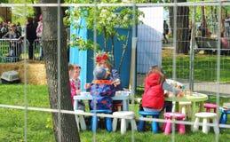Children sztuki teren Zdjęcie Royalty Free