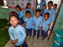 Children from Tallo Chipla Stock Photography