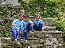 Children from Tallo Chipla Stock Images