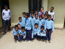 Children from Tallo Chipla Royalty Free Stock Images