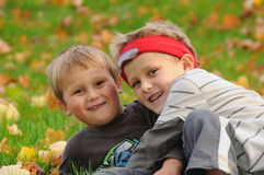 Children tease Royalty Free Stock Images
