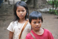 Children in Thailand Royalty Free Stock Photos