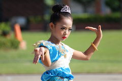 Children Thailand students Culture Dance Stock Photography