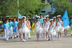 Children Thailand students Culture Dance Stock Photos