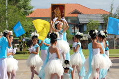 Children Thailand students Culture Dance Royalty Free Stock Photos