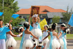 Children Thailand students Culture Dance Royalty Free Stock Photo