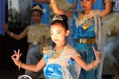 Children Thailand students Culture Dance Stock Images
