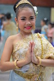 Children Thailand students Culture Dance Royalty Free Stock Image