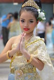Children Thailand students Culture Dance Royalty Free Stock Images