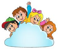 Children theme image 2 Royalty Free Stock Photo
