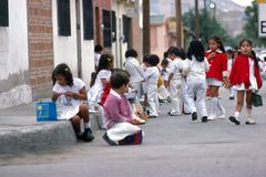 Children in Tijuana Royalty Free Stock Photography