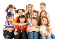 Children together Stock Photography
