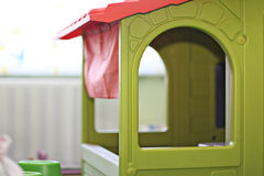 Children toy house Stock Photo