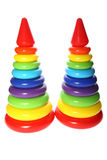 Children toy Pyramid Royalty Free Stock Image