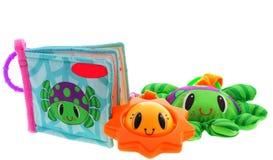 Children toys. Isolated on white background Stock Image