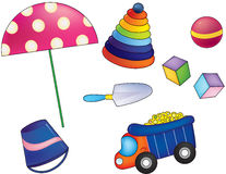 Children toys Stock Image