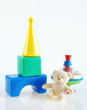 Children toys for game Royalty Free Stock Images