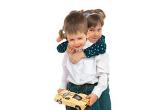 Children with toys Royalty Free Stock Image
