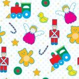 Children toys seamless pattern Stock Photo