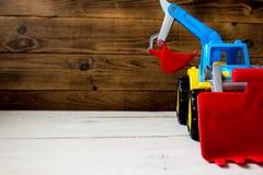 A children toys tractor stock photos