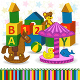 Children toys Royalty Free Stock Images