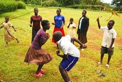 Children in Uganda. Children play on Ssese Islands in Lake Victoria Uganda Royalty Free Stock Photography