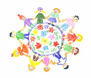 Children Unity Royalty Free Stock Images