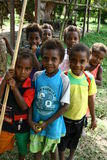 Children in Vanuatu Stock Images