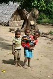 Children in Vanuatu Royalty Free Stock Photos
