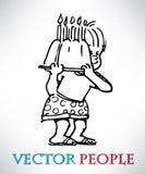 Children Vector Stock Photo