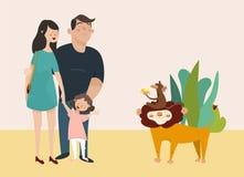Children vector illustration Royalty Free Stock Photography