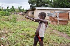 Children of the village Stock Photo
