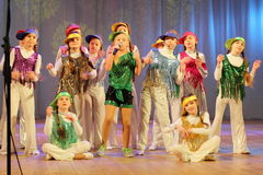 Children vocalists Royalty Free Stock Image