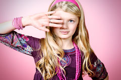 Children vogue Stock Images