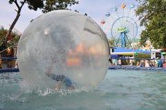 Children water attraction Stock Photos