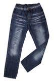 Children wear - jeans Stock Photos