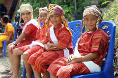Children at wedding in Tana Toraja Royalty Free Stock Photos