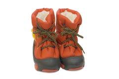 Children winter boot Stock Photos