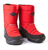 Children winter boot Royalty Free Stock Photo