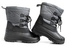 Children winter boot Stock Image