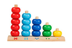 Children wooden abacus Stock Photography