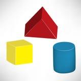 Children wooden toys Stock Image