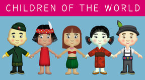 Children of the World Royalty Free Stock Image