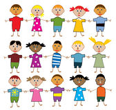 Children of the world Royalty Free Stock Photos