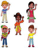 Children in the world. Royalty Free Stock Photo